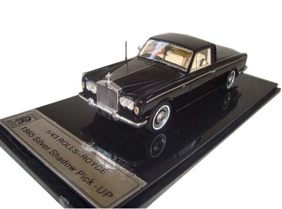 Black 1:43 Scale 1965 Rolls-Royce Silver Shadow Pickup Model