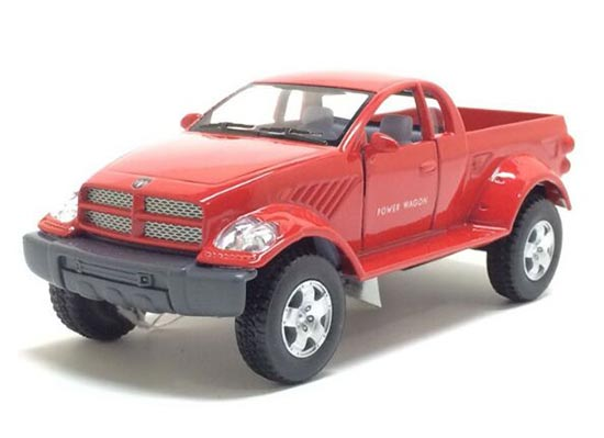 Red / Blue /Black /Champagne Kids Die-Cast Dodge Power Wagon Toy