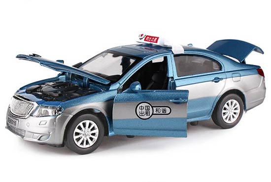Kids 1:32 Scale Blue / Green / Yellow / Red BeiJing Taxi Toy