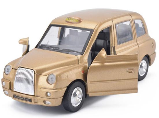 1:32 Scale Kids Blue / Red Pull-back Function Taxi Toy