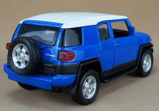 Red Blue Yellow Kids Scale Toyota Fj Cruiser Suv Toy