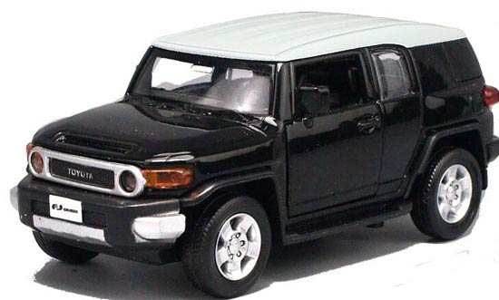 Red / Blue / Yellow Kids 1:32 Scale Toyota FJ Cruiser SUV Toy