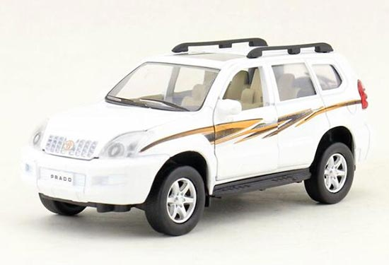 White / Green / Black Kids Toyota LAND CRUISER PRADO Toy