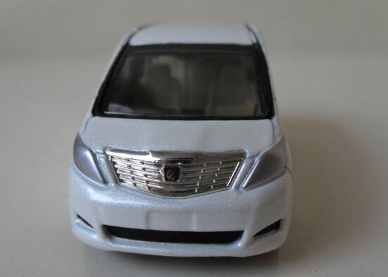 Kids Mini Scale White Diecast Toyota ALPHARD Toy