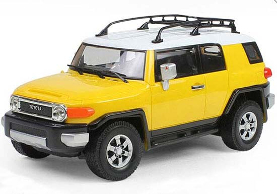 Scale Yellow Blue Red Black R C Toyota Fj Cruiser Suv