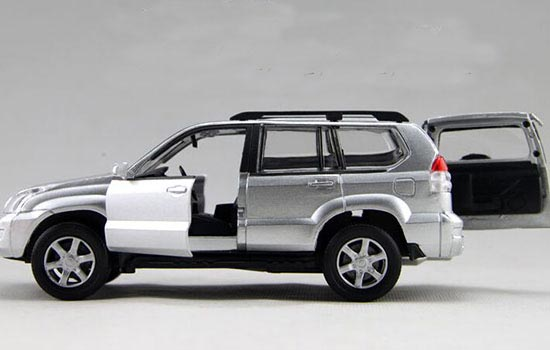 Kids Silver / Blue / Red / White 1:32 Scale Toyota PRADO Toy