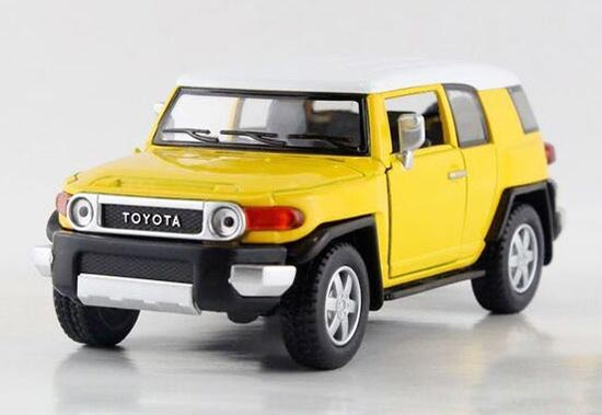 Red / Black / Yellow / Blue Kid 1:38 Scale Toyota FJ Cruiser Toy