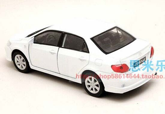 White 1 36 Scale Welly Kids Cast Toyota Corolla Toy