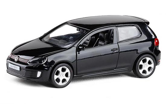Black / Red / Blue / Silver 1:36 Scale Kids Diecast VW Golf GT1
