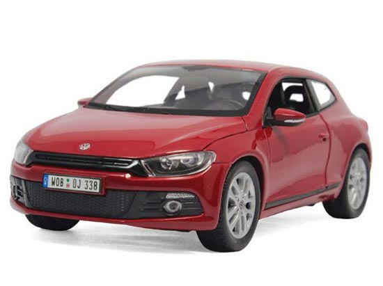 Welly 1:24 Red / Green / Blue / White Diecast VW Scirocco Model