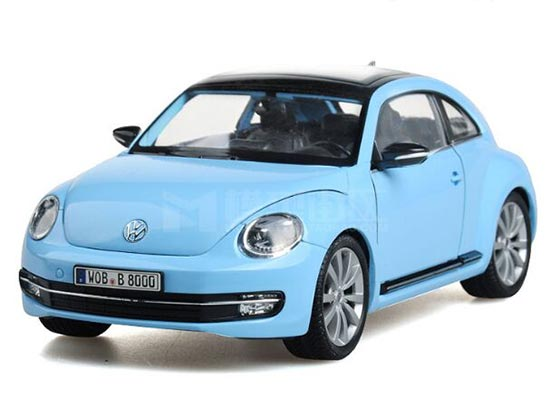 Blue /Red /Yellow /White /Pink 1:24 Diecast VW New Beetle Model