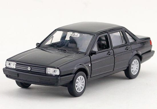 Kids 1:36 Scale Black Welly Diecast VW Santana Toy
