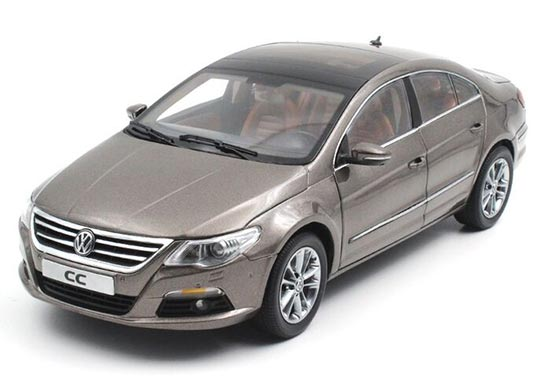 1:18 Scale Silver / Wine Red / Gray VW New Magotan Model