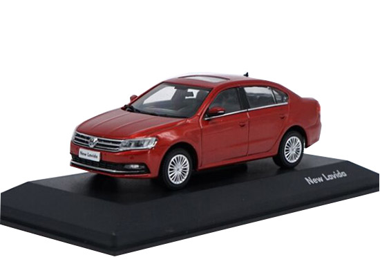 Silver /Wine Red /Golden 1:43 Scale Die-Cast VW New Lavida Model