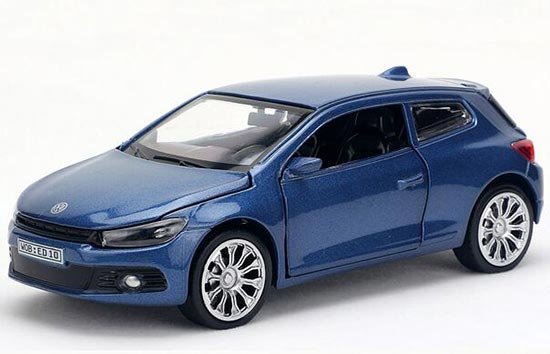 Six Colors Pull-Back Function 1:28 Kids Die-Cast VW Scirocco Toy