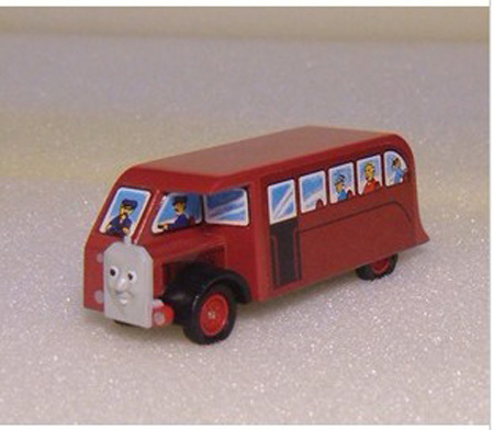 Kids Red Wooden THOMAS And FRIENDS Bus Toy